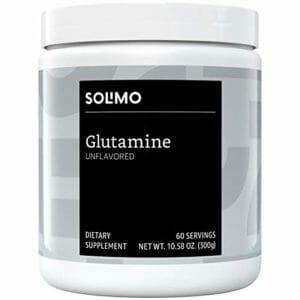 Solimo Top 10 Glutamine Powder