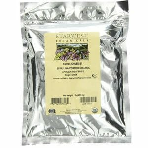 Starwest Botanicals Top Ten Spirulina Powder