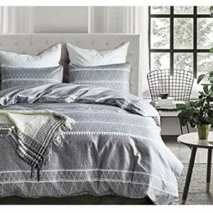 Tebery Twin Size Duvet Cover Sets