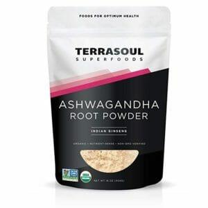 Terrasoul Superfoods Top 10 Ashwagandha Powders
