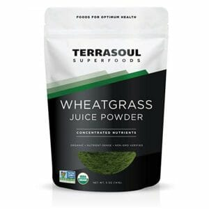 Terrasoul Superfoods Top Ten Wheatgrass Powder