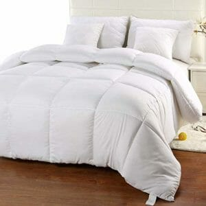Utopia Bedding Top Ten Twin Size Down and Down Alternative Comforters