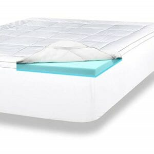 ViscoSoft 2 Top Ten King Size Memory Foam Mattress Toppers