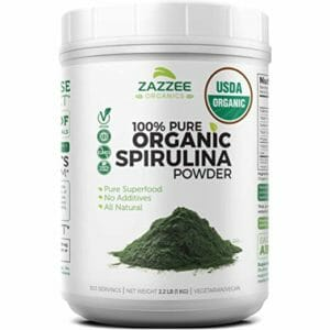 Zazzee Top Ten Spirulina Powder
