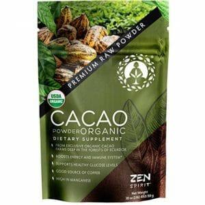 Zen Spirit Top 10 Cacao Powder
