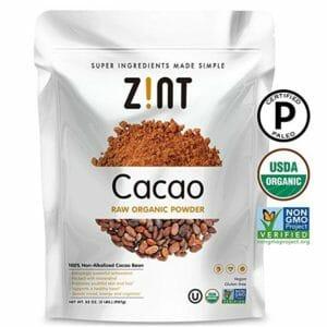 Zint Top 10 Cacao Powder