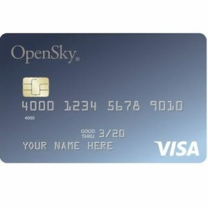 OpenSky Secured Visa Card Top 10 Best Credit Cards for People With Poor to Fair Credit