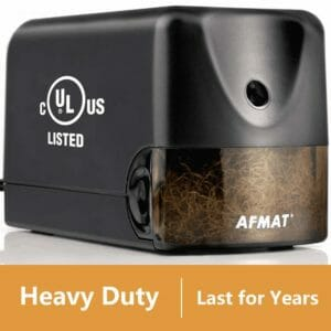 AFMAT Top 10 Best Electric Pencil Sharpeners