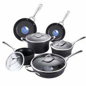 AMERICOOK Top 10 Best Aluminum Pots and Pans Sets