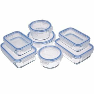 AmazonBasics Top 10 Best Glass Food Storage Sets for the Kitchen