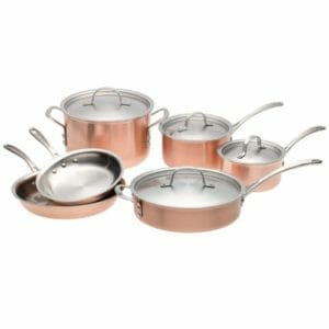 Calphalon Top 10 Best Copper Pots and Pans Sets