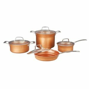 Concord Cookware Top 10 Best Copper Pots and Pans Sets