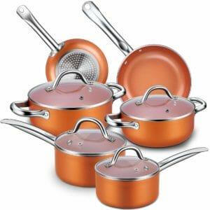 Cuisinaid Top 10 Best Aluminum Pots and Pans Sets