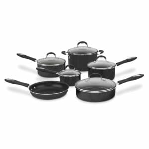 Cuisinart 2 Top 10 Best Non-stick Pots and Pans Sets