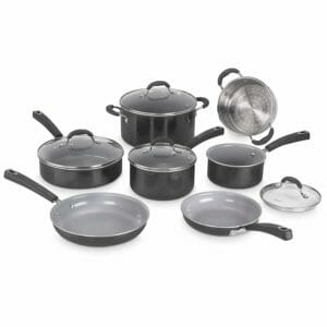 Cuisinart Top 10 Best Ceramic and Porcelain Pots and Pans Sets