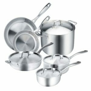 Duxtop Top 10 Best Pots and Pans Sets for Induction Stoves
