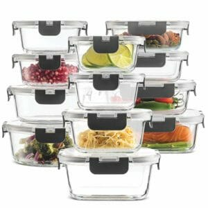FINEDINE Top 10 Best Glass Food Storage Sets for the Kitchen