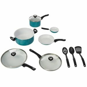 Farberware Top 10 Best Ceramic and Porcelain Pots and Pans Sets