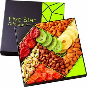 Five Star Gift Baskets Top 10 Best Nut and Fruit Gifts