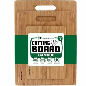 Freshware Top 10 Best Wood and Bamboo Cutting Boards