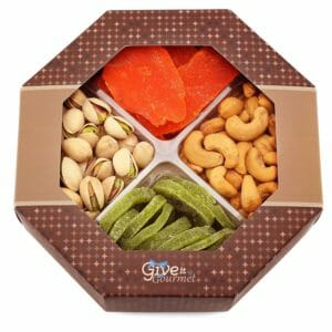 GIVE IT GOURMET Top 10 Best Nut and Fruit Gifts