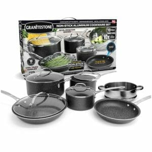 GRANITESTONE Top 10 Best Non-stick Pots and Pans Sets