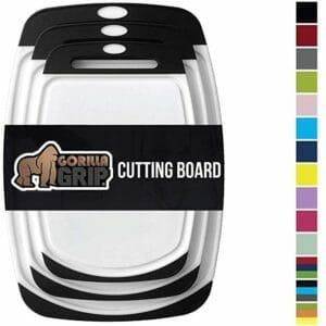 Gorilla Grip Top 10 Best Plastic Cutting Boards