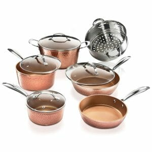 Gotham Steel Top 10 Best Copper Pots and Pans Sets