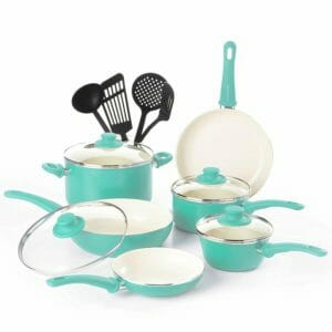 GreenLife Top 10 Best Ceramic and Porcelain Pots and Pans Sets