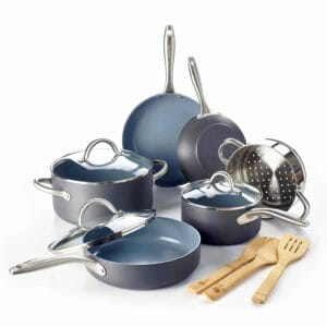 GreenPan Top 10 Best Ceramic and Porcelain Pots and Pans Sets