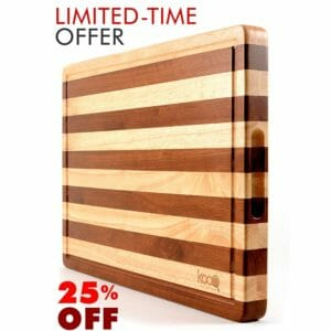 KOOQ Top 10 Best Wooden Cutting Boards