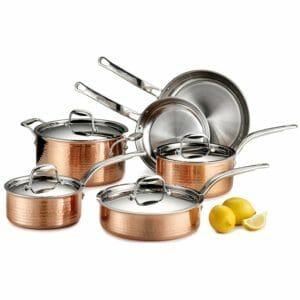 Lagostina Top 10 Best Copper Pots and Pans Sets