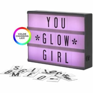 My Cinema Lightbox Top 10 Best Gifts for Teenage Girls