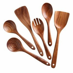 Nayahose Top 10 Best Wooden and Bamboo Kitchen Utensil Sets