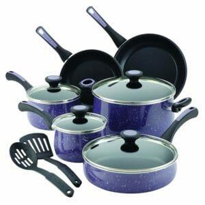 Paula Deen Top 10 Best Aluminum Pots and Pans Sets