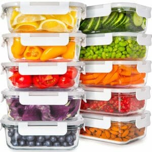 Prep Naturals 2 Top 10 Best Glass Food Storage Sets for the Kitchen