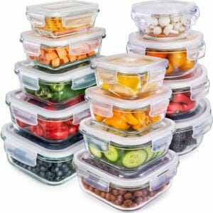 Prep Naturals Top 10 Best Glass Food Storage Sets for the Kitchen