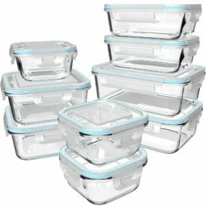 S SALIENT Top 10 Best Glass Food Storage Sets for the Kitchen
