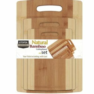 Utopia Kitchen 2 Top 10 Best Wood and Bamboo Cutting Boards