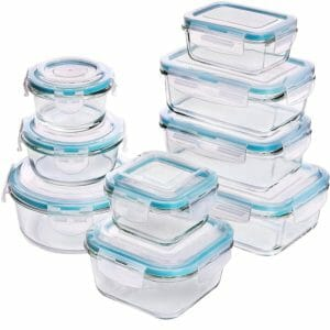 Utopia Kitchen Top 10 Best Glass Food Storage Sets for the Kitchen