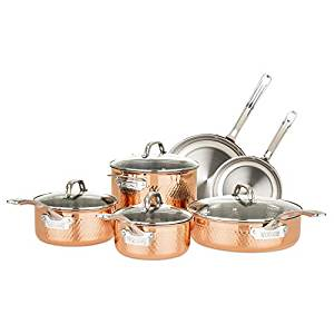 iking top 10 copper pots and pans sets