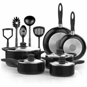 Vremi 2 Top 10 Best Aluminum Pots and Pans Sets