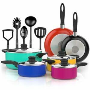 Vremi Top 10 Best Aluminum Pots and Pans Sets
