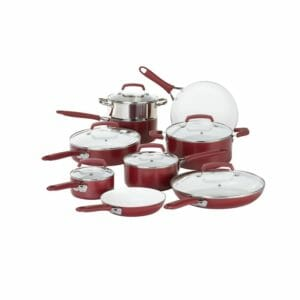 WearEver Top 10 Best Ceramic and Porcelain Pots and Pans Sets