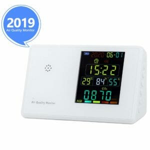 YVELINES 2 Top 10 Best Air Quality Detectors for the Home
