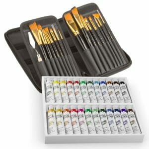 Ampela Top 10 Best Artist Paintbrush Sets