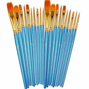 BOSOBO Top 10 Best Artist Paintbrush Sets