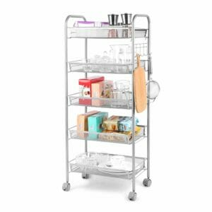 Cozzine Top 10 Best Rolling Kitchen Storage Carts