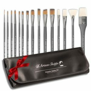 D'Artisan Shoppe Top 10 Best Artist Paintbrush Sets
