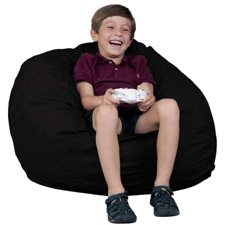 Big Joe Milano Bean Bag Chair Soft Cozy Comfortable Lightweight Kids